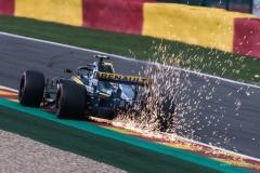 """Nico Hulkenberg Flying sparks at SPA- francorchamps 2018"" / Photographer - Jasper Legrand"