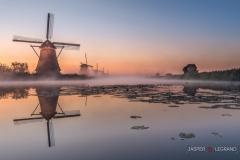 """Windmill at sunrise Kinderdijk-Holland"" / Photographer - Jasper Legrand"