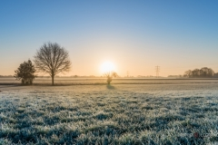 """Sunrise after freezing night  Tilburg - Holland"" / Photographer - Jasper Legrand"